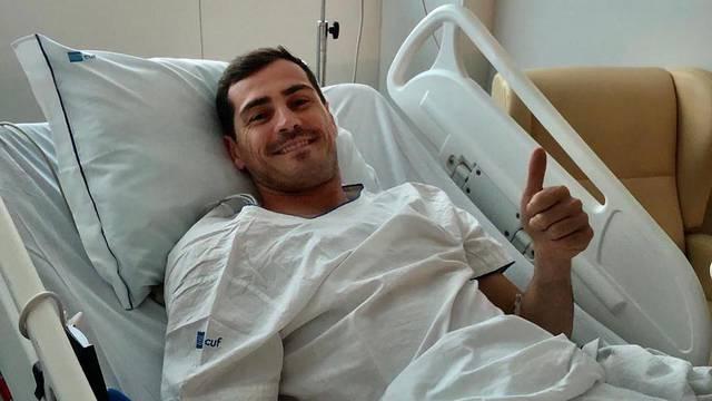 Casillas se javio iz bolnice: Bilo je zastrašujuće, ali dobro sam