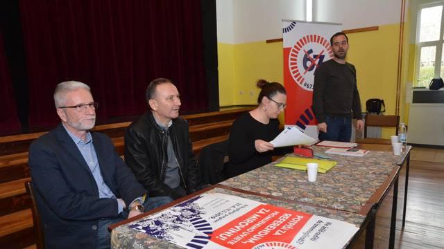"""Sl. Brod: Čelnici sindikalne referendumske inicijative predstavili inicijativu """"67 je previše"""""""