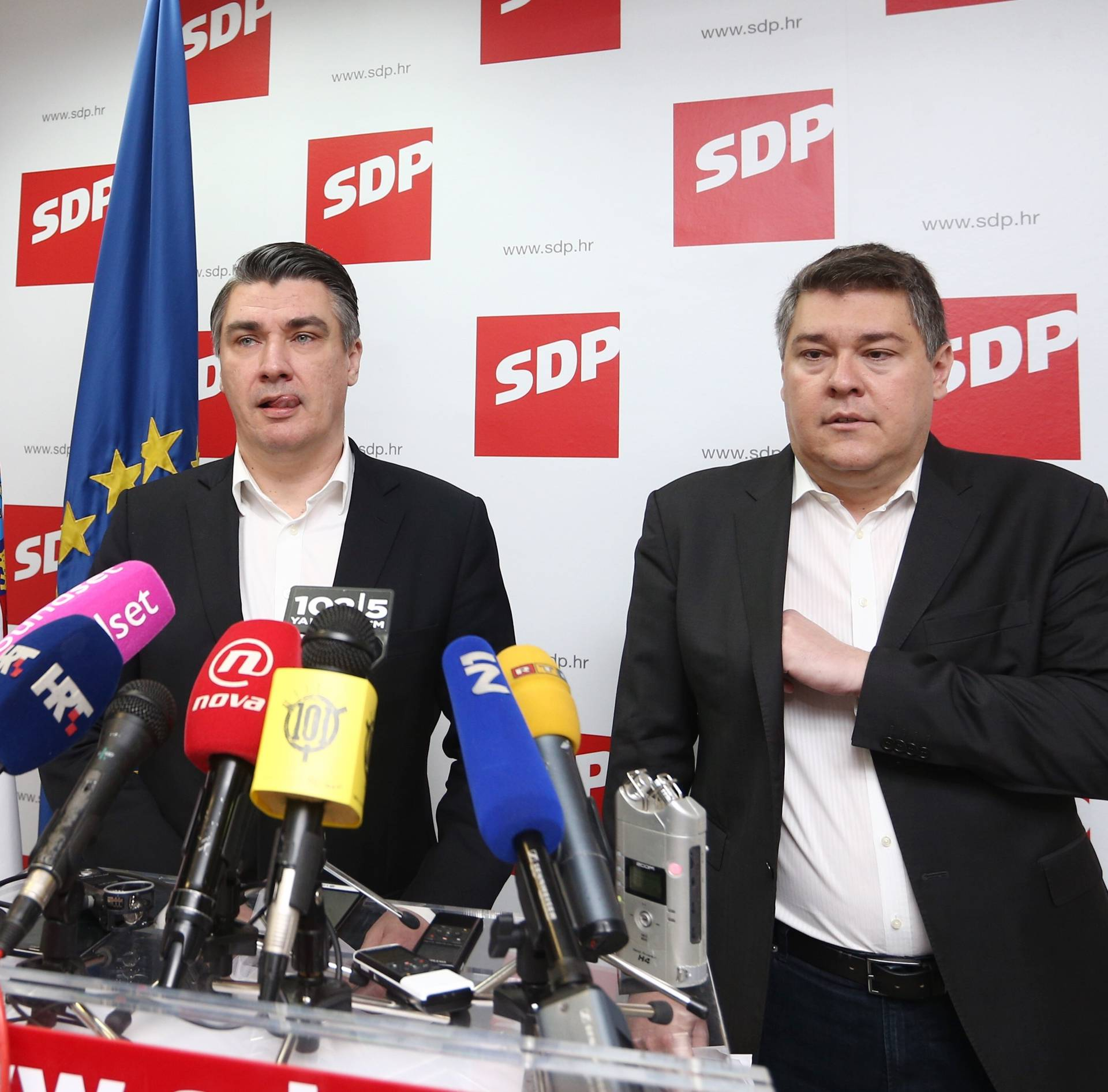 Zoran Milanović: 'Štetno je kad te usnime s ustaškom kapom'