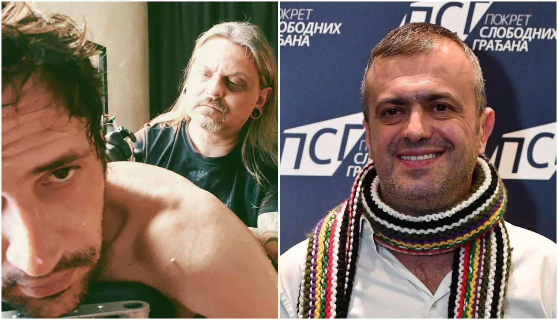Bogdan se pohvalio tetovažom, Sergej Trifunović ga sprda...