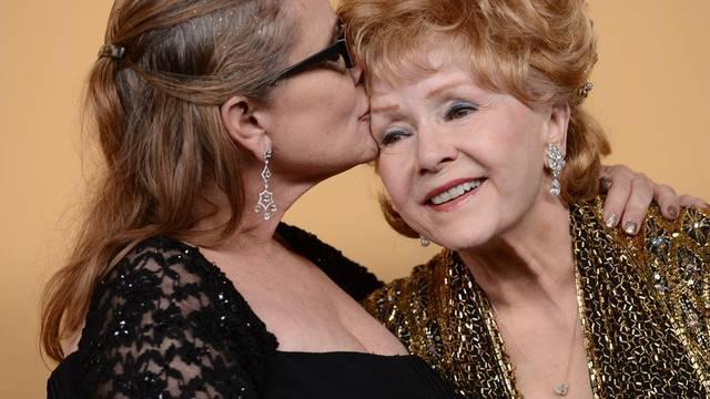 Debbie Reynolds imala je viziju da će joj kći Carrie preminuti