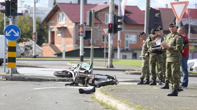 Policajac stradao dok se vraćao sa skupa za poginulog kolegu