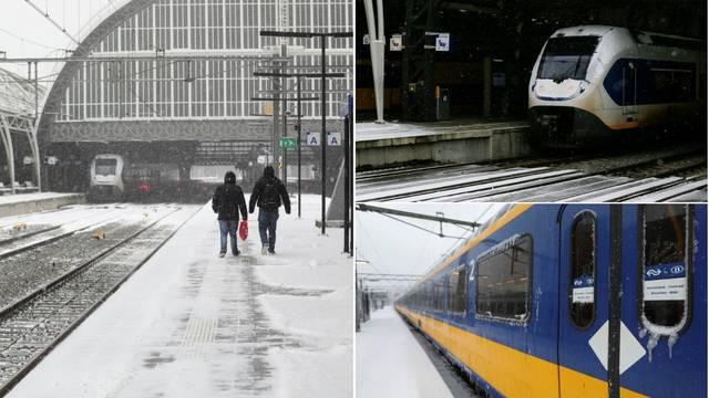 Nizozemci 10 godina nisu vidjeli ovakvu snježnu oluje: Zatvorili centre za testiranje na koronu