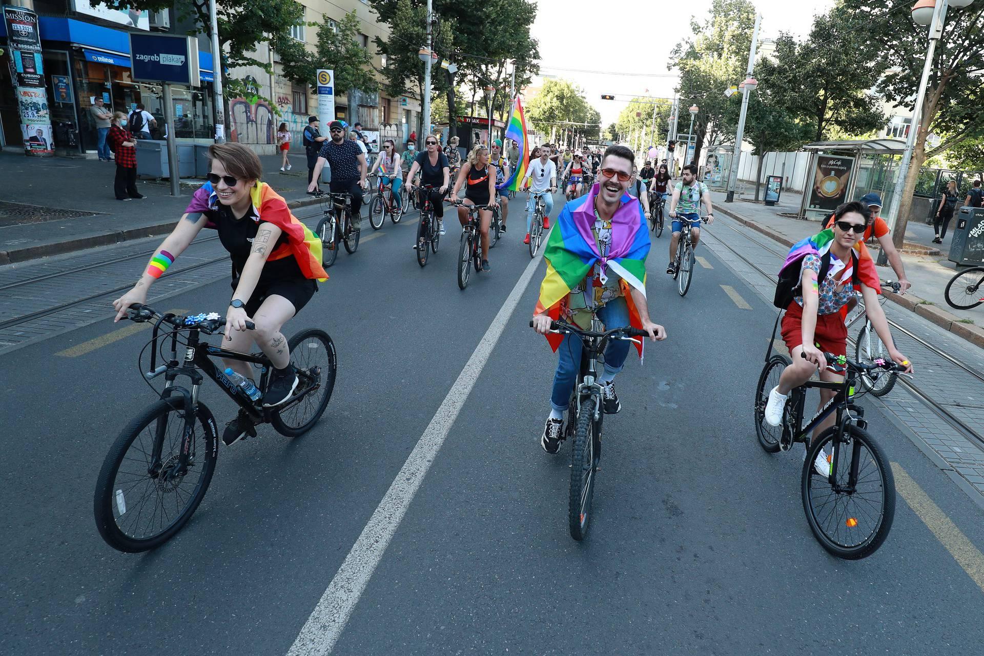 Prvi 'Pride ride' u Hrvatskoj prošao bez incidenata: 'Jako smo zadovoljni odazivom!'