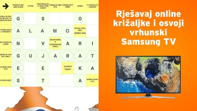 Bildaj sive stanice uz križaljke i osvoji vrhunski Samsung TV!