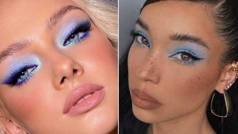 Impresivan pogled na 5 načina: Naglasite oči nijansama plave
