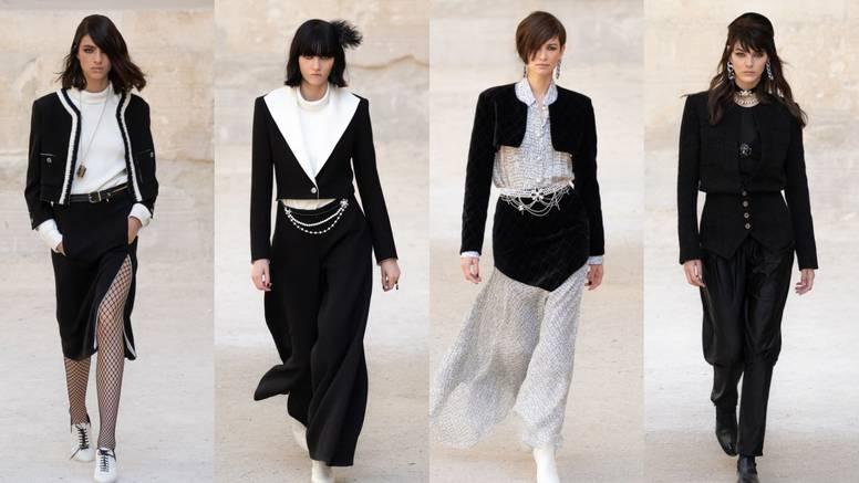 Chanel Resort 2022.: Igra crne i bijele kroz razne stilske formate