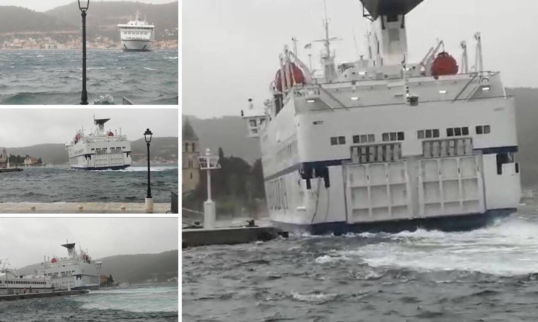 Kapetan trajekta: Plovim 30 godina, ali ovo još nisam vidio