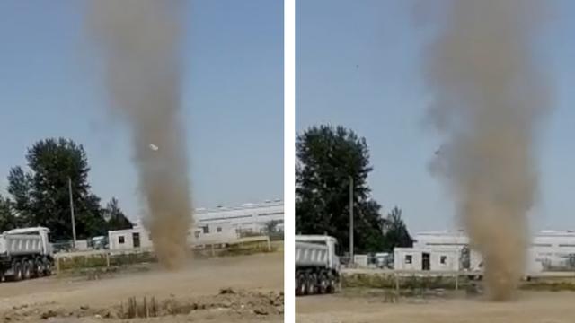 Pijavica u Donjem Kraljevcu: 'Nastala je iznenada i počela se dizati 50 metara u zrak!'