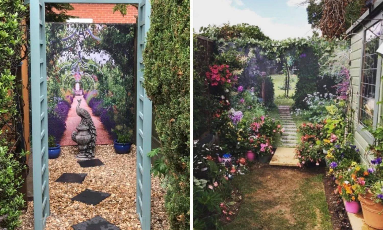 Uz pomoć zavjesa za tuš vrtove pretvorile u egzotična mjesta