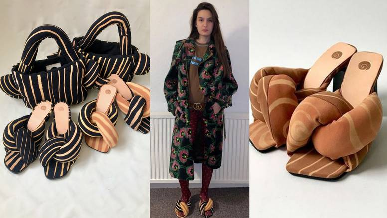'Poplun papuče' napravljene su od raznih ostataka materijala