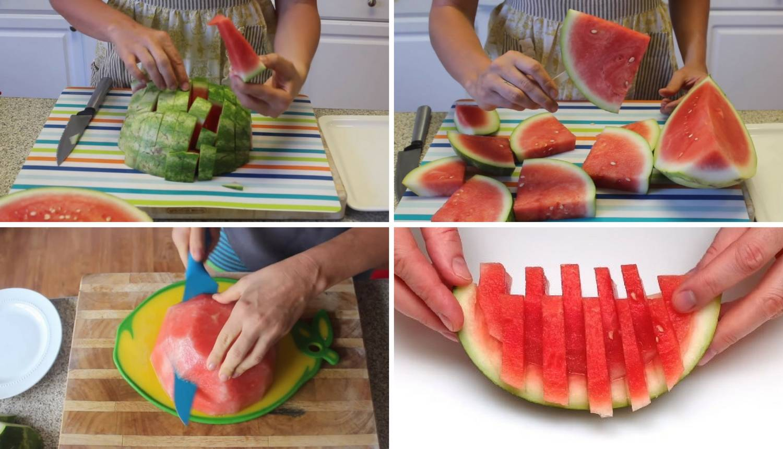 5 genijalnih načina za rezanje lubenice - gotovo je za čas!
