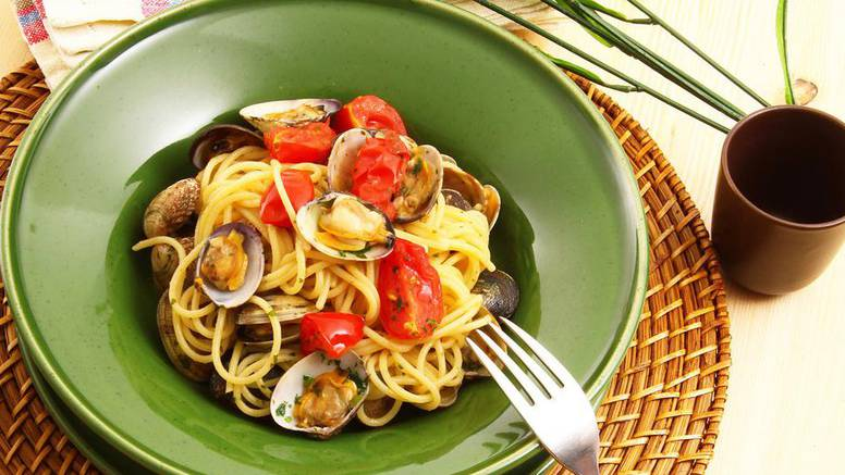 Brza i slasna večera: Špageti sa školjkama na talijanski način