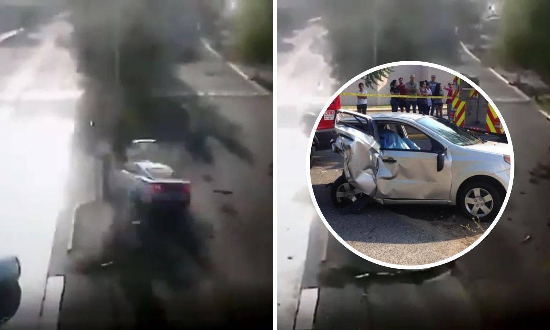 Uznemirujuća snimka: Vozio je kao divljak i usmrtio bračni par