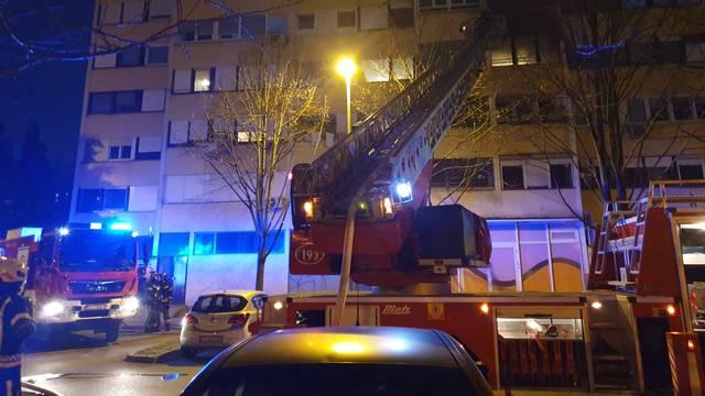 Gorio stan u Prečkom: 'Dim je bio ogroman. Susjedi trčali van'