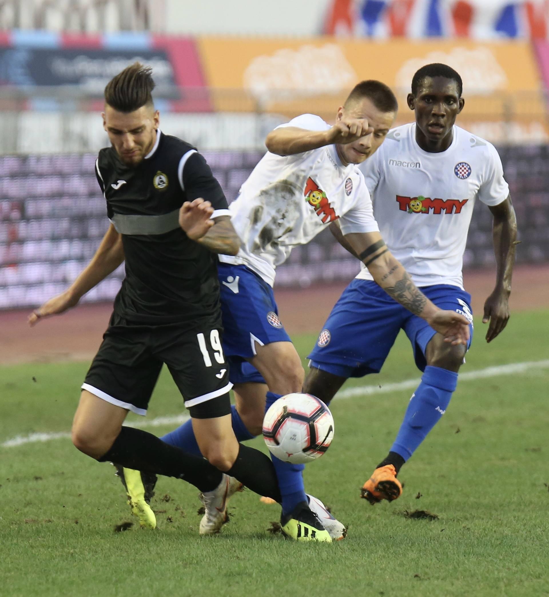 Hajduk teškom mukom srušio Slaviju za prednost pred uzvrat