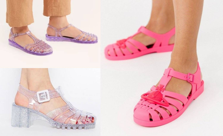 Jelly sandale: Slavne retro gumenjače imaju revival u šarenim i glitter varijantama