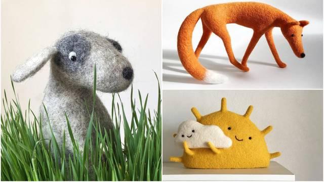 Ukrajinske umjetnice stvorile su fantastične skulpture od vune