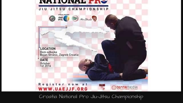 Croatia National  Pro Jui-Jitsu Championship u Zagrebu