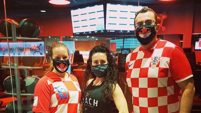 Pozirali su u hrvatskom dresu: Antonija i Srećko 'bacili' se na trening prije crkvenog vjenčanja