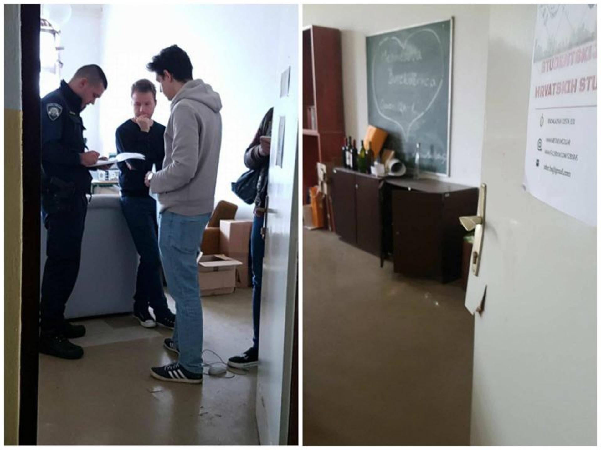 Studentima Hrvatskih studija ukrali računala, printer, knjige