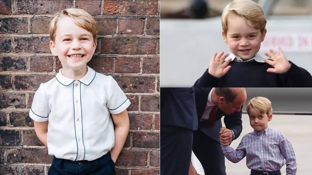 George ima pet godina, a već ga iritiraju kraljevske dužnosti