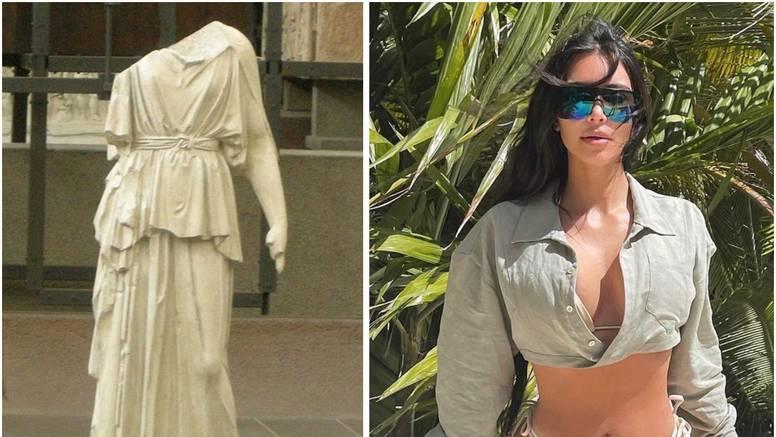 Kim Kardashian prokrijumčarila djelo antičkog grčkog kipara Mirona, ali tvrdi da nije kriva...