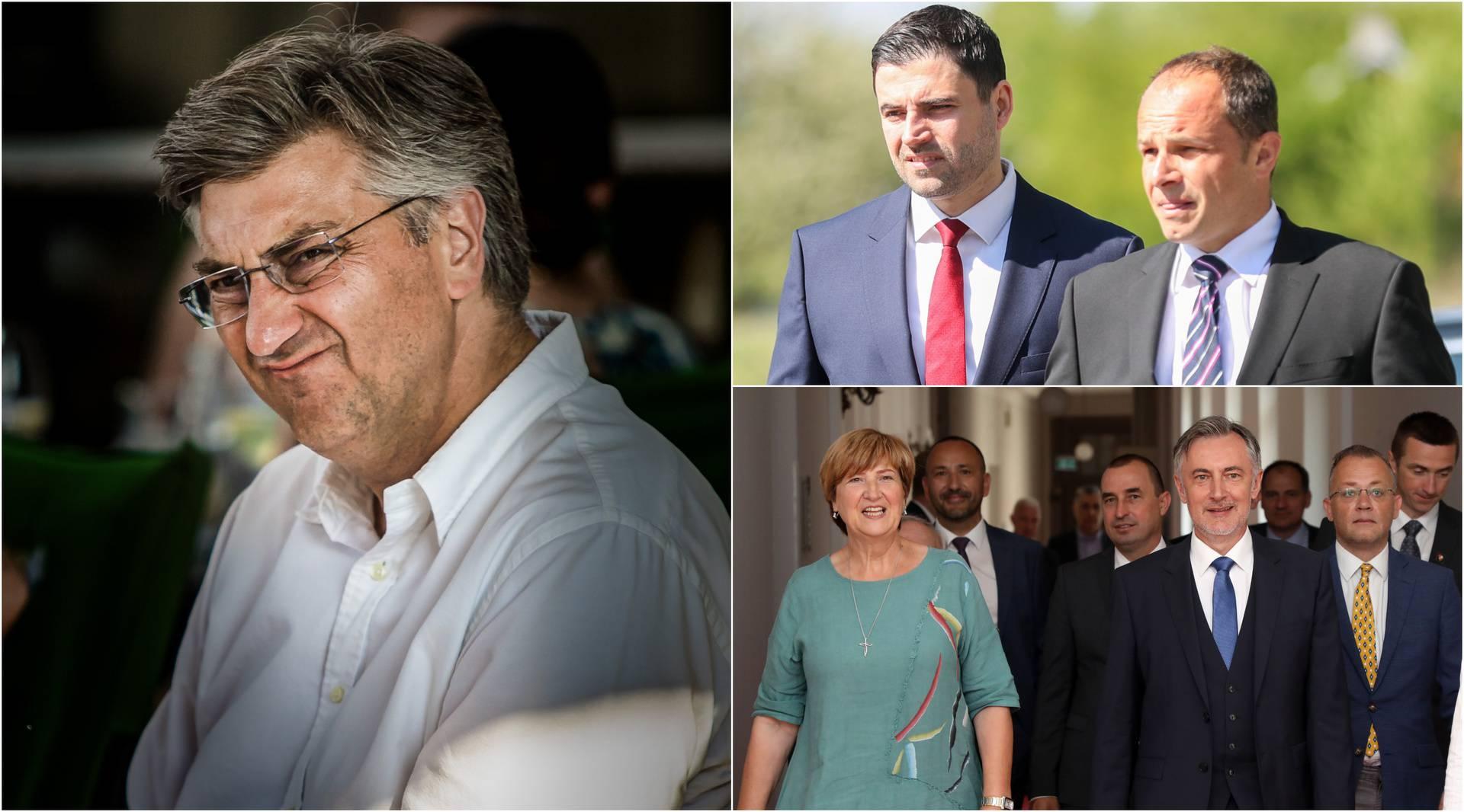 Restart koalicija dosad potrošila više od HDZ-a: Plenki, Hajdaš Dončić i Tomašić se 'isprsili'