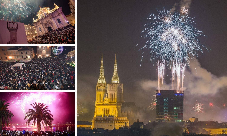 Pogledajte kako su građani na trgovima dočekali Novu godinu