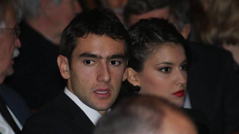 Marin Čilić na božićni koncert došao s djevojkom Kristinom