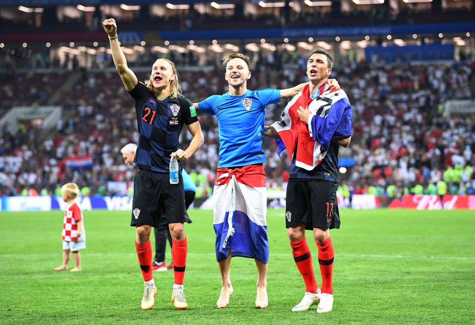 GES / Football / World Cup 2018 / Croatia - England, Match 62, 11.07.2018