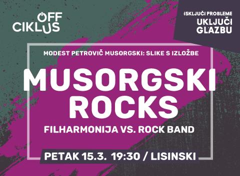 Epski dvoboj  Zagrebačke filharmonije i Rock Banda