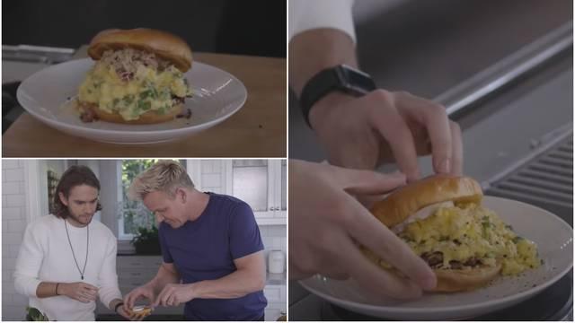 Idealan za doručak: Napravite savršeni sendvič s kajganom prema Ramsayjevom receptu