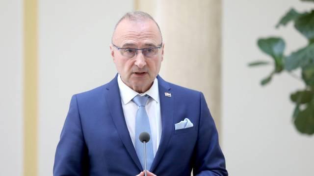 Zagreb: Ministar vanjskih poslova Grlić Radman sastao se s češkim kolegom Tomašom Petričekom