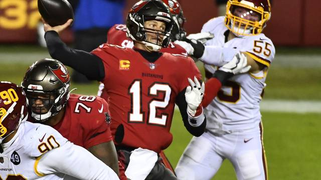 NFL: NFC Wild Card Round-Tampa Bay Buccaneers at Washington Football Team