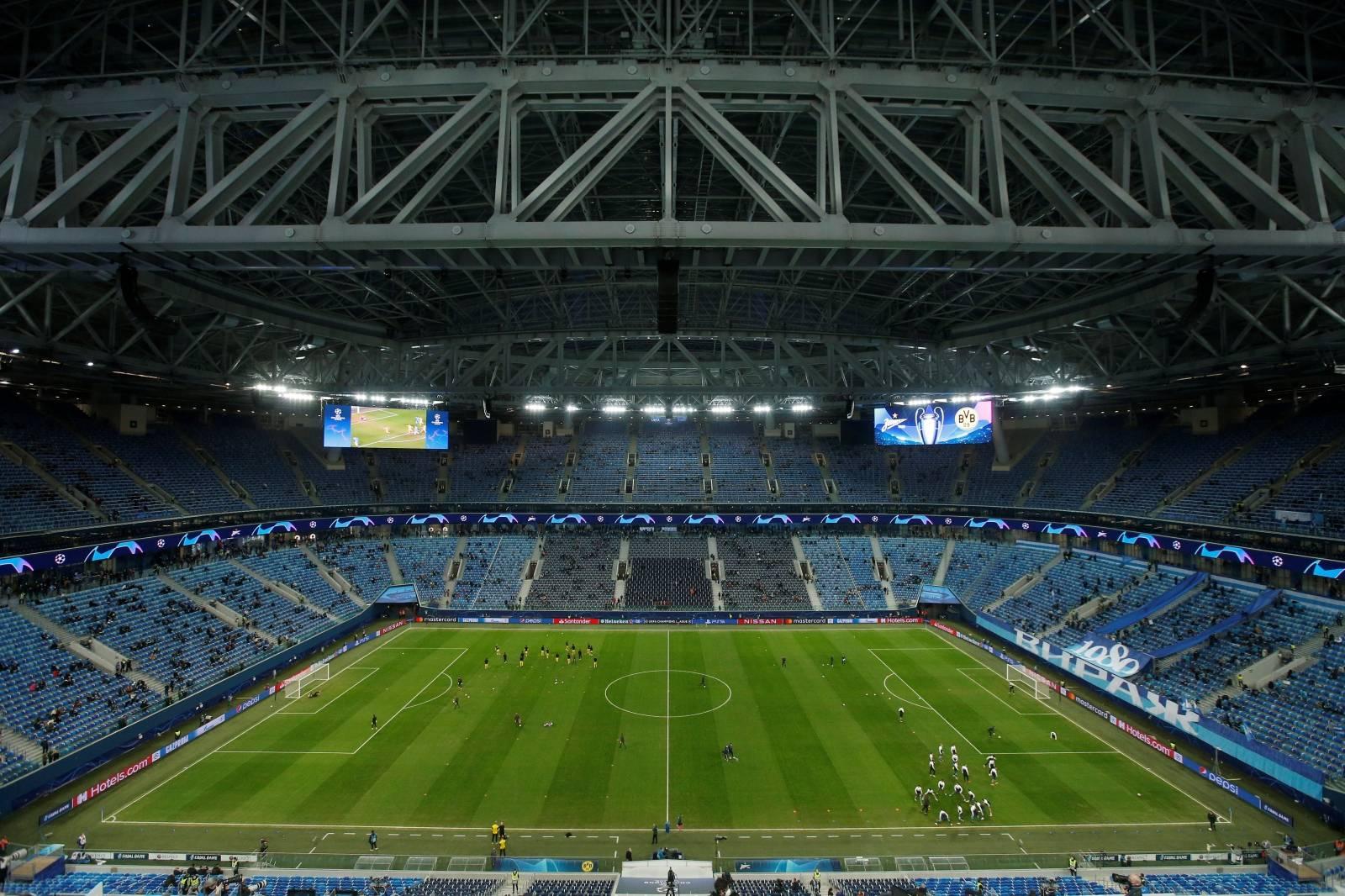 FILE PHOTO: Champions League - Group F - Zenit Saint Petersburg v Borussia Dortmund