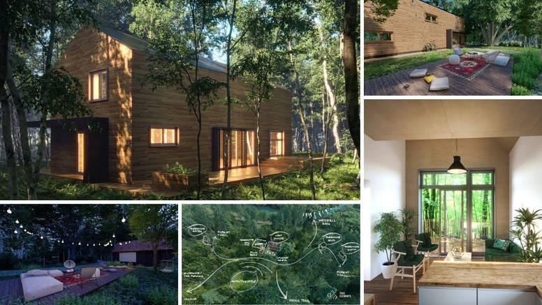 Raj u blizini Rastoka: Kućice za opuštanje u predivnom zelenilu