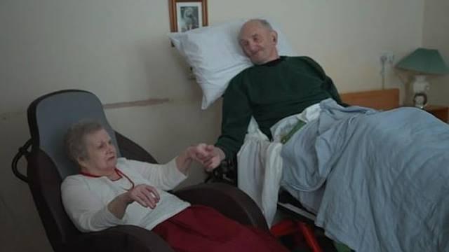 Prije smrti poželio je još samo jedanput vidjeti svoju suprugu