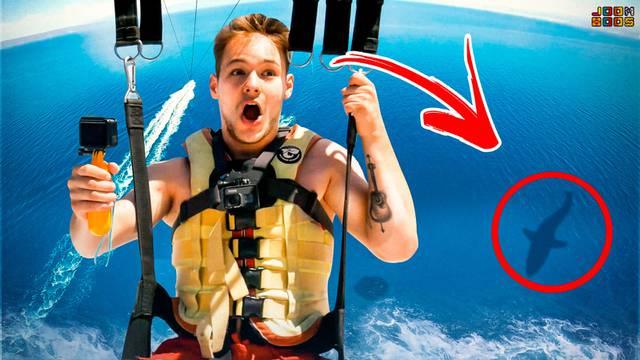 Panično se boji visine, ali je svejedno poletio 100 metara iznad vode: 'Ovo je brutalno!'