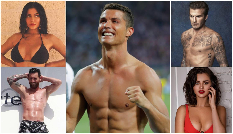 Nogometaši i klan Kardashian-Jenner najplaćenije su zvijezde