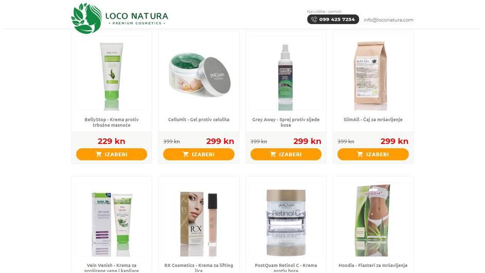 Internet trgovina Loco Natura napokon u Hrvatskoj!