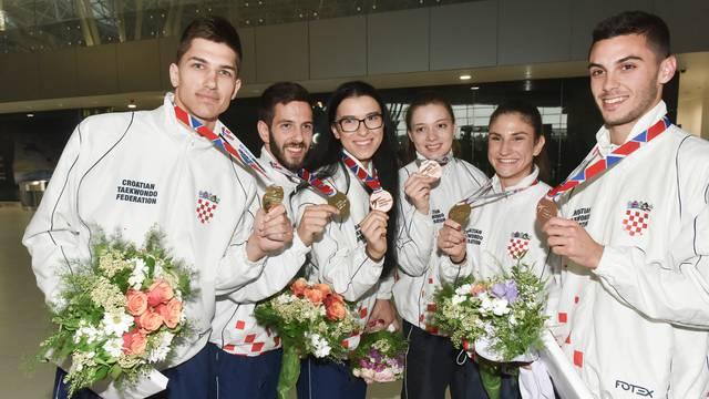 Hrvatski taekwondo poharao je Europu! Medaljaši su stigli kući