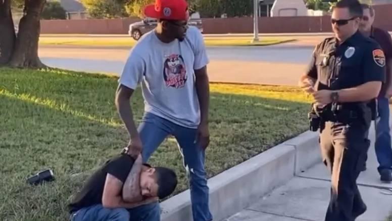VIDEO Pogrešno vrijeme: Krao je auto, zaustavio ga UFC borac