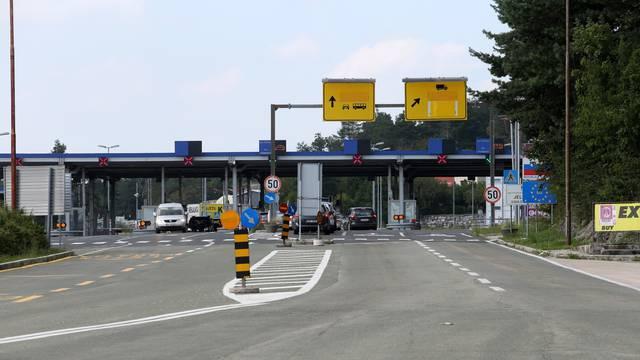 Prazan granični prijelaz Rupa u poslijepodnevnim satima