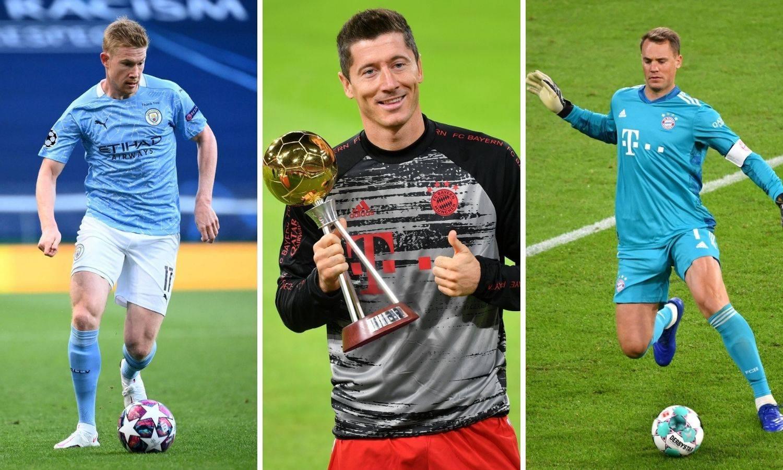I 24sata bira: De Bruyne, Neuer ili Lewandowski bit će najbolji