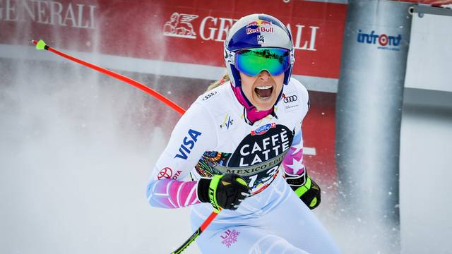 FILE PHOTO: Lindsey Vonn of the U.S. at Are, Sweden - March 14, 2018