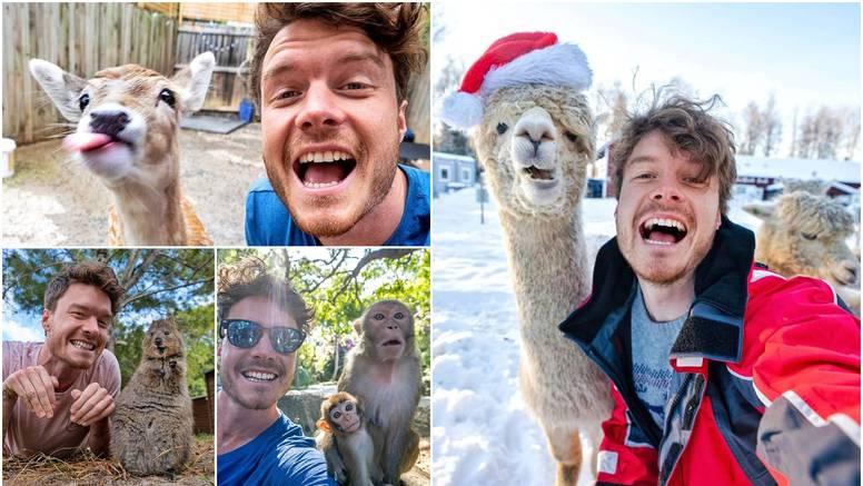 Putuje po svijetu i fotografira životinje - poziraju s osmijehom