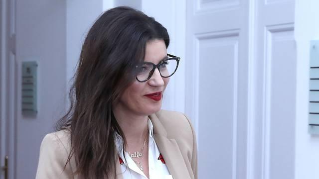 Zagreb: Josipa Rimac došla u prostorije kluba zastupnika MOST-a