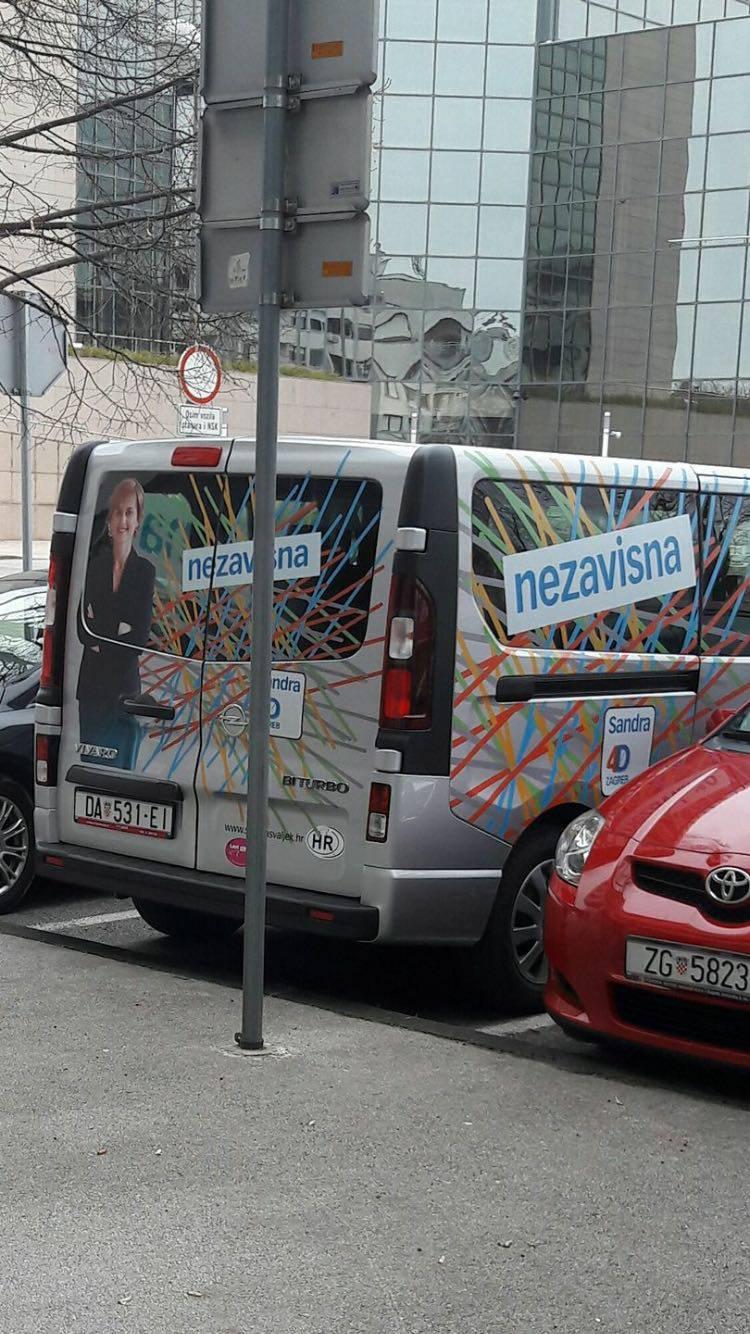 Švaljek želi biti gradonačelnica Zagreba u kombiju iz Daruvara