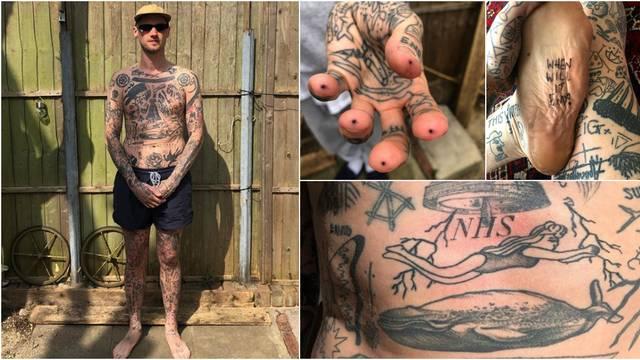 Zanimacija u karanteni: Svaki dan si napravim jednu tetovažu
